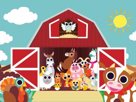 Peekaboo Barn - Night & Day Studios